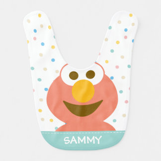 Elmo Baby | Add Your Name Baby Bib