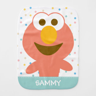 Elmo Baby | Add Your Name Burp Cloth