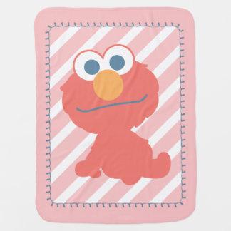 Elmo Baby Sitting Baby Blanket