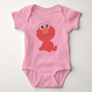 Elmo Baby Sitting Baby Bodysuit
