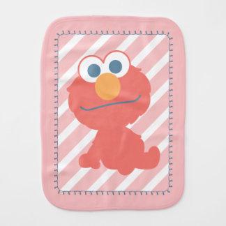 Elmo Baby Sitting Burp Cloth