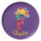 Elmo Balloons   Add Your Name Plate