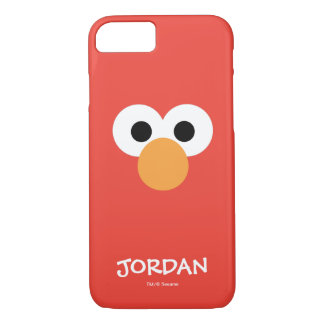 Elmo Big Face | Add Your Name iPhone 8/7 Case