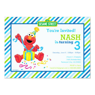 Elmo Boy's Birthday Card