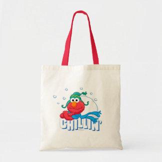 Elmo Chillin' Budget Tote Bag
