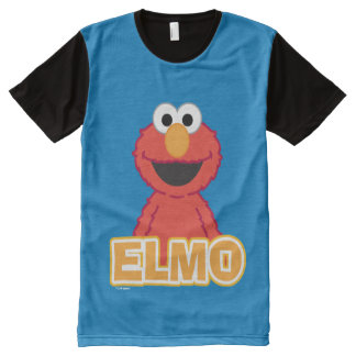 Elmo Classic Style All-Over Print T-Shirt