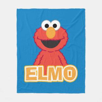 Elmo Classic Style Fleece Blanket
