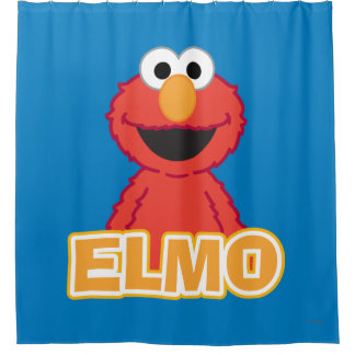 Elmo Classic Style Shower Curtain