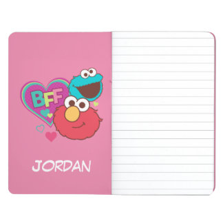 Elmo & Cookie Monster - BFF | Add Your Name Journal