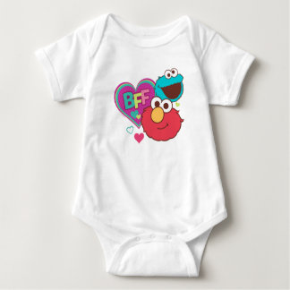 Elmo & Cookie Monster - BFF Baby Bodysuit