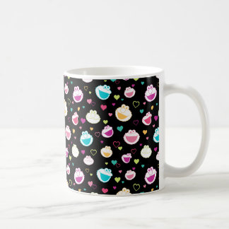 Elmo & Cookie Monster | Sweet Stuff Heart Pattern Coffee Mug