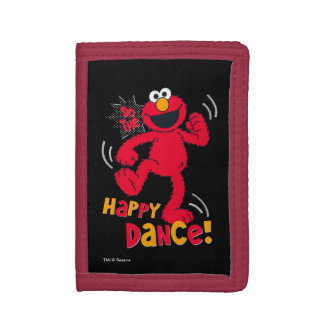 Elmo | Do the Happy Dance Tri-fold Wallet