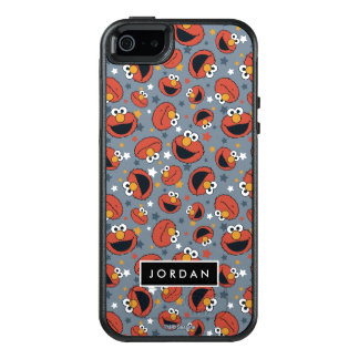 Elmo | Elmo Rules Star Pattern | Add Your Name OtterBox iPhone 5/5s/SE Case