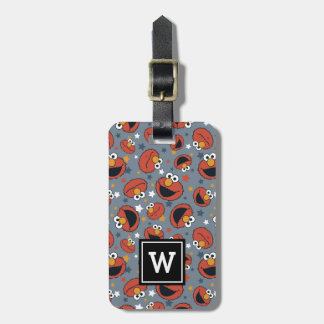 Elmo | Elmo Rules Star Pattern Luggage Tag
