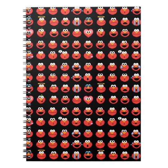 Elmo Emoji Pattern Notebook