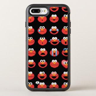Elmo Emoji Pattern OtterBox Symmetry iPhone 8 Plus/7 Plus Case