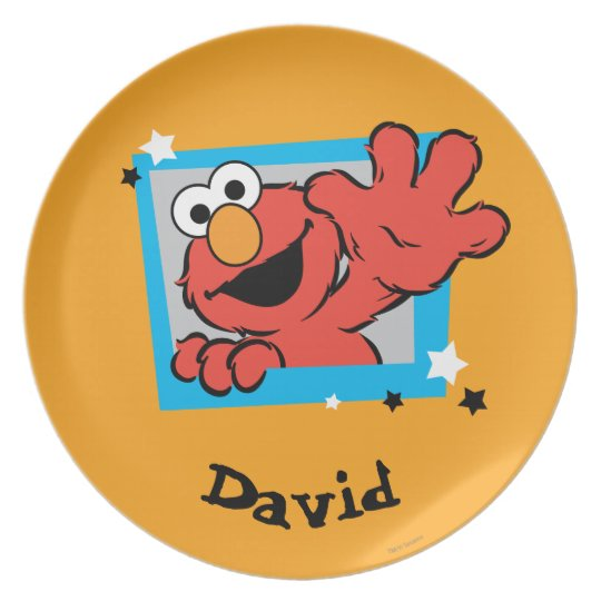Elmo Extreme Pose | Add Your Name Plate