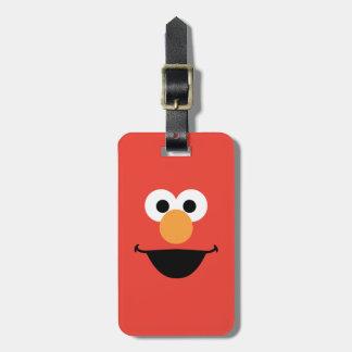 Elmo Face Art Bag Tag
