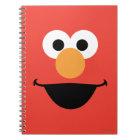 Elmo Face Art Notebook