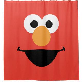 Elmo Face Art Shower Curtain