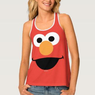 Elmo Face Art Tank Top
