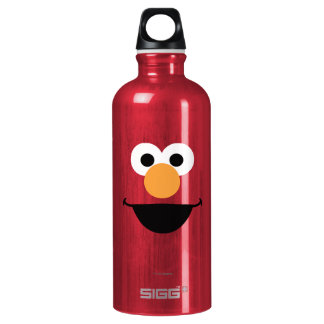 Elmo Face Art Water Bottle