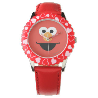 Elmo Face Art Wristwatches
