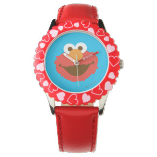 Elmo Face Wrist Watches