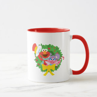 Elmo Gingerbread Mug