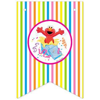 Elmo Girl's Birthday Bunting