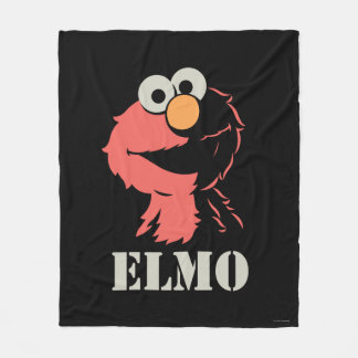 Elmo Half Fleece Blanket