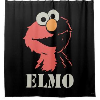 Elmo Half Shower Curtain