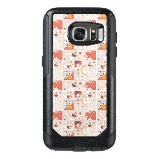 Elmo | Happy Little Monster Comic Pattern OtterBox Samsung Galaxy S7 Case