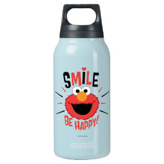 Elmo Happy Smile Insulated Water Bottle