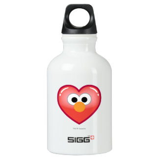 Elmo Heart Water Bottle