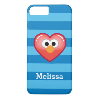 Elmo Heart | Your Name iPhone 8 Plus/7 Plus Case