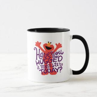 Elmo Hugging Mug