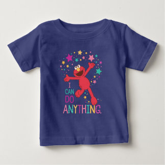 Elmo   I Can Do Anything Baby T-Shirt