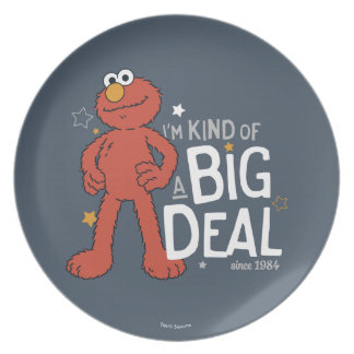 Elmo | I'm Kind of a Big Deal Party Plate