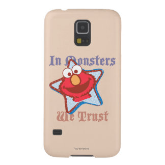 Elmo - In Monsters We Trust Cases For Galaxy S5