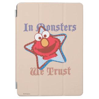 Elmo - In Monsters We Trust iPad Air Cover