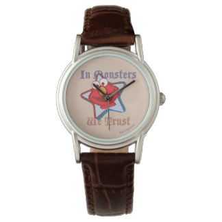 Elmo - In Monsters We Trust Wristwatches
