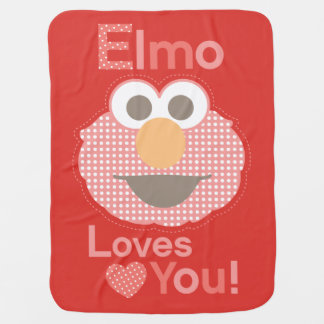 Elmo Loves You Baby Blanket