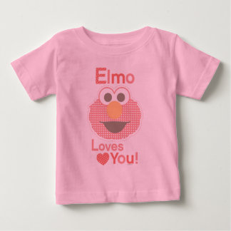Elmo Loves You Baby T-Shirt
