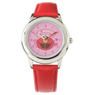 Elmo | My Heart Belongs To Elmo Wristwatches