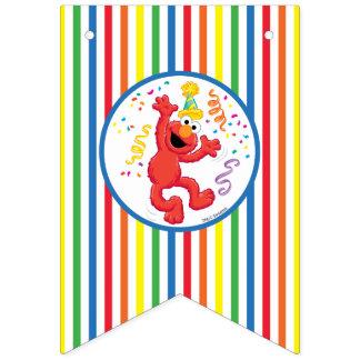 Elmo Neutral Birthday Bunting