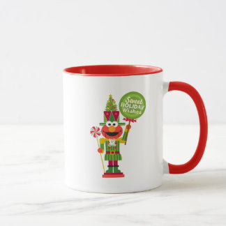 Elmo Nutcracker Mug