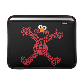 Elmo Pattern Fill Sleeve For MacBook Air