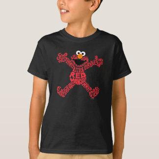 Elmo Pattern Fill T-Shirt