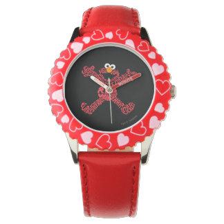 Elmo Pattern Fill Wristwatches